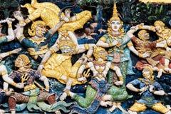 En del av templet Royaltyfria Foton