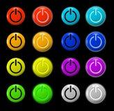 En del botón Imagen de archivo libre de regalías