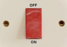 En del interruptor Foto de archivo libre de regalías