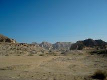 EN DESIERTO DE LA ISLA DE QESHM Imagen de archivo