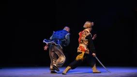 """En desperat ansträngning-Peking opera som """"Taking Tiger Montain By Strategyâ € Royaltyfri Bild"""