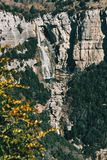 En detalj av en klippa arkivfoto