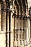 En detalj av Sts Leonard priorskloster, Stamford Royaltyfria Bilder
