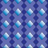 Diamanten formar seamless mönstrar vektor illustrationer