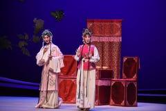 """En dichte vriend om over gevoel-Kunqu het Opera """"the Westen Chamber† te spreken Royalty-vrije Stock Fotografie"""