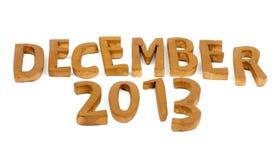 En diciembre de 2013 Fotos de archivo