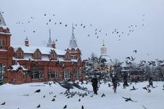 En diciembre de 2018 Rusia E Cuadrado de Krasnogorsky fotografía de archivo libre de regalías