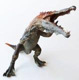 En dinosaurie som namnges Baryonyx, menande tung jordluckrare fotografering för bildbyråer