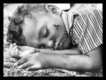 En djup sömn Royaltyfri Fotografi