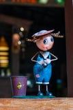 En docka, a-docka av Thailand Arkivfoto