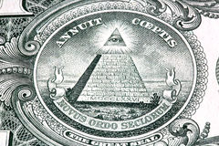 En dollarräkning Arkivfoton