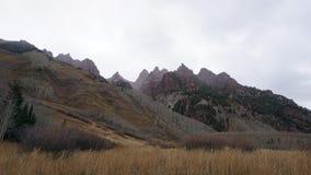 En domkyrka i himlen av Colorado Royaltyfria Foton