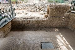 En Ein Yael Living Museum en Jerusalén fotos de archivo libres de regalías