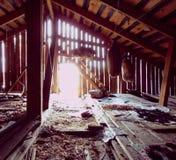 En el ático Foto de archivo libre de regalías