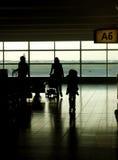 En el aeropuerto Fotografía de archivo libre de regalías