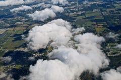 En el aire Fotos de archivo libres de regalías