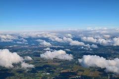 En el aire Fotos de archivo
