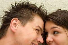 En el amor - felicidad Fotos de archivo