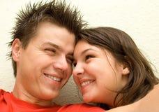 En el amor - felicidad Foto de archivo libre de regalías