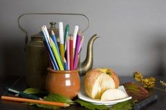 En el artista Studio Imagen de archivo libre de regalías