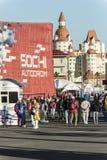 En el autodrom de Sochi Fotografía de archivo libre de regalías