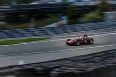 En el balneario Francorchamps el balneario seis horas de Grand Prix de asociación histórica de los coches imágenes de archivo libres de regalías