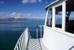 En el barco Foto de archivo libre de regalías