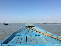 En el barco Fotografía de archivo