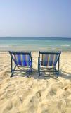 En el beach1 Imagenes de archivo