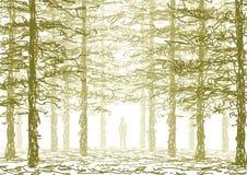 En el bosque libre illustration