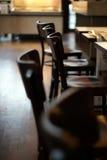 En el café Fotografía de archivo