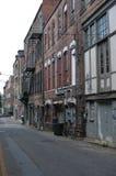 En el callejón posterior Fotos de archivo