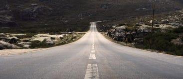 En el camino Imagenes de archivo