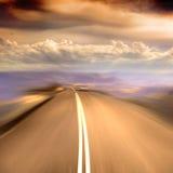 En el camino Imagen de archivo libre de regalías