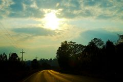 En el camino Fotos de archivo libres de regalías