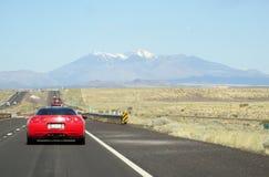 En el camino a Arizona Fotografía de archivo libre de regalías