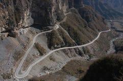 En el camino del acantilado Fotos de archivo libres de regalías