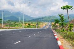 En el camino a la colina del Na de los vagos, Da Nang, Vietnam Fotografía de archivo