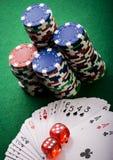 En el casino Fotografía de archivo
