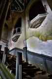 En el castillo abandonado fotos de archivo libres de regalías