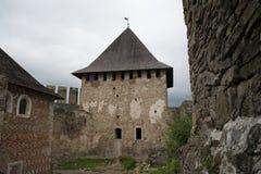 En el castillo de Khotyn Foto de archivo