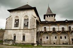 En el castillo de Khotyn Fotos de archivo