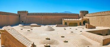 En el castillo de Rayen, Irán fotografía de archivo libre de regalías