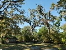En el cementerio de Bonaventure en Savannah Georgia imagen de archivo libre de regalías