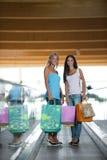 En el centro comercial Imagen de archivo libre de regalías