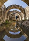 En el centro de la ciudad antigua del ágora de Smyrna, imagen de archivo libre de regalías