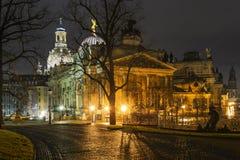 Ciudad de Dresden Imagen de archivo libre de regalías