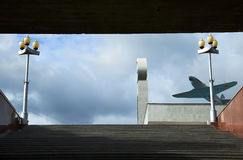 En el cielo Fotografía de archivo libre de regalías
