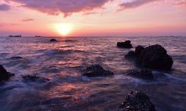 En el cielo, los mares agitados del amor Imagen de archivo libre de regalías