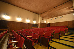 En el cine viejo. Fotografía de archivo
